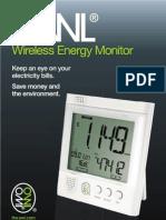 Wireless Energy Monitor - User Guide