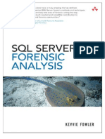 SQL Server Forensic Analysis Chapter SQL Server Forensic