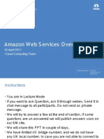 Amazon Web Service Overview