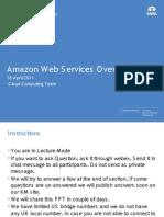 Amazon Web Service Overview