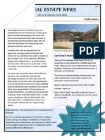 Newsletter Sample - Filled in PDF