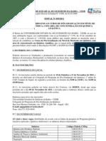 Edital093 Mestrado em Química 2012