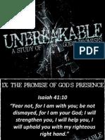 Unbreakable Week 9