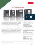 9600 Series Ip Desk Phones - Brochure