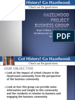 Hazelwood Project Update November 2011