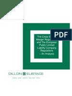 Analysis of SE Regulations Cross Border Merger Regulations - Dec 09