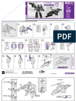 TFA Megatron (Leader) Instructions
