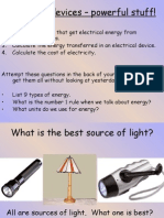 Electrical Devices – Powerful Stuff!