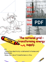 The National Grid – Transforming Energy Supply