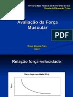 Curva Força-Velocidade e Avaliação Isocinética - 16