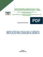 Manual de Como Realizar Trabalhos Cientificos