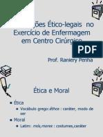AULA II Ética em centro cirúrgico