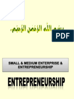 Entreprenuership Chapter the Nature & Importance of Entreprenurs Chapter1