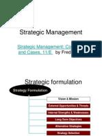 Lecture 2 Strategic Formulation 06-07