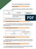 Ayuntamiento de Ceclavín - Modelo de Pliego de Clausulas Administrativas Particulares de Venta Vivienda