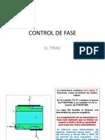 Control de Fase Con Triac