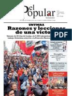 El Popular N° 164 - 11/11/2011
