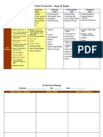 Production Cycle and Planning Guide