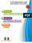 Prosthodontics LAB 6 ,Jaw relation Record ,cont