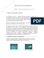 Citología de cérvix o test de Papanicolaou
