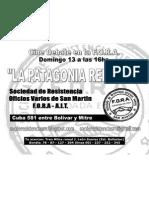 Volante La Patagonia Rebelde