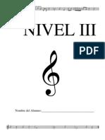 Guia Nivel I Leng. Musical
