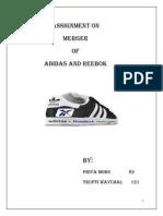 ADIDAS and REEBOK merger