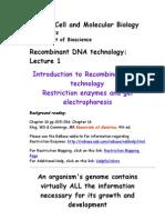 Bio 423 Lecture 1