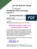 Bio 423 Lecture 2