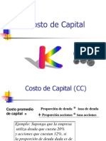 (Form.)Costo de Capital