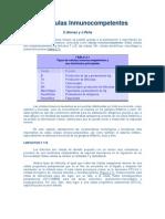 Celulas inmunocompetentes_ Tema 2.