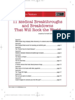11 Medical Breakthroughs