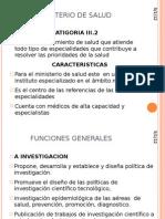 Ministerio de Salud Wilder