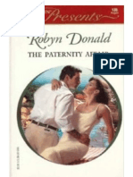 Robyn Donald the Paternity Affair