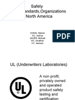 Safety Marks , Standards , Organizations in North America