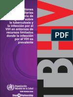 Cues Ti Ones Prior It Arias de Tbc en Pacientes Hiv Oms