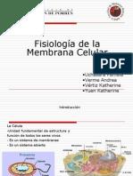 Fisiología de La Membrana Celular