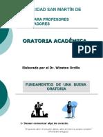 Oratoria Academica