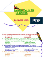 1 Fundamentals in Nursing