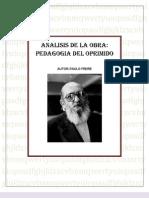 Analisis Pedagogia Del Oprimido