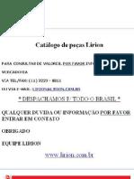 Catálogo Peças Lirion