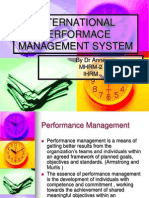 Int. Performance Management and Pepsi Cola Int.