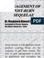 Management of Post Burn Sequelae