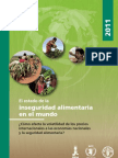 FAO El Estado de La Inseguridad Aliment Aria 2011