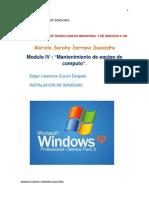 Instalacion de Windows