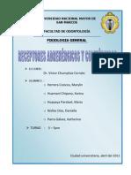 Seminario 3-Receptores Adrenergicos y Colinergicos
