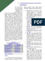 Ut1-Sut10. Fiebre Tifoidea y Salmonelosis