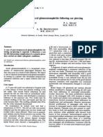 Acute Post-streptococcal Glomeruionephritis PDF