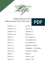 30 Days Bible Reading Plan