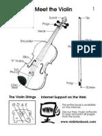 Violin Fun Book Infantil